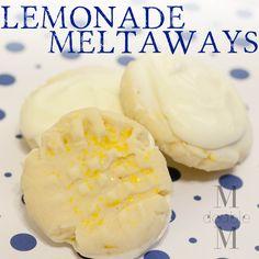Lemonade meltaway cookies