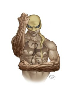 Iron Fist: I do tons of reference. I try to get a variety of artists from different time periods to see how different people represented the character. — Russell Dauterman *