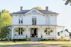 Photo Credit: Patricia Lyons . The circa-1875 Victorian sits on seven acres.