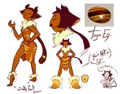 Steven Universe Tiger Eye by AskPrincesMultifruit.deviantart.com on @DeviantArt