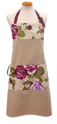 Correo: patricia sanchez rojas - Outlook - Crafts to make - Nahen Retro Apron, Aprons Vintage, Sewing To Sell, Love Sewing, Sewing Aprons, Sewing Clothes, Sewing Crafts, Sewing Projects, Cool Aprons