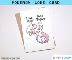 LOVE MEWTWO CARD || Pun G I Choose You Love Couple Gay Cute Pokemon Go Boyfriend Girlfriend Anniversary Printable || Download or Physical by POPxCOUCHA on Etsy POKEMON GREETING CARD  Heart Pokeball Pokemon Go Pun Couple Gift Valentine Pikachu 90s Present Love Nintendo Boyfriend Girlfriend Birthday Anniversary Anime Love Card Gaming Nerd Cards Geek Pokemon Art  Design Pocket Monsters Handmade Paper Goods Humour Game Catch Em all Team Mystic Team Valor Team Instinct Drawing Art poster
