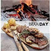 Deboned leg of lamb with herb rub done over the coals - the perfect main dish for my dinner party. With a good bottle of red wine. Braai Recipes, Lamb Recipes, Yummy Recipes, Recipies, Woolworths Food, South African Recipes, Ethnic Recipes, Cooking Tips, Cooking Recipes