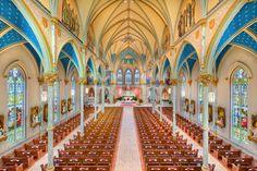 St John The Baptist Catholic Church in Savannah, Ga. I love going to church there when I am home visiting