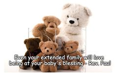 A Baby Blessing The Sweetest Ceremony Lights Everyone Up Baby Blessing, Baby Christening, Extended Family, Young Ones, Baby Names, Infant, Blessed, Teddy Bear, Children