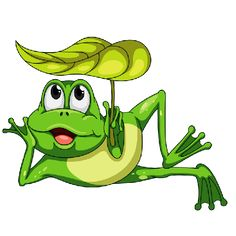 Funny Frogs - Cartoon Animals Homepage