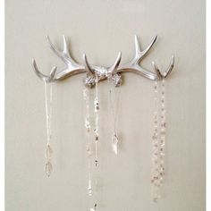 Jewelry storage ideas for any decor Deer antlers Antlers and