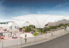 """L' #Allemagne, pays accueillant et chaleureux, a dévoilé son #pavillon pour #Expo2015. Bienvenue dans le """"Champs des idées"""" ! http://www.novoceram.fr/blog/news/pavillon-allemagne-expo-2015"""