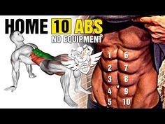 10 BÀI TẬP BỤNG TẠI NHÀ TỐT NHẤT CHO DÂN THỂ HÌNH - YouTube Personal Goals, How To Slim Down, Stay Fit, Workout Programs, At Home Workouts, Cardio, Abs, Sports, Flat Stomach