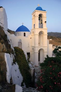 Church of Panagia Gremiotissa (Our Lady on the Cliffs), built in 1797, Ios (Hey, that's where I'm from!)