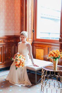 Photography: Alicia Swedenborg   aliciaswedenborg.com Wedding Dress: Kleinfeld Bridal   kleinfeldbridal.com   View more: http://stylemepretty.com/vault/gallery/37926