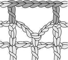 "Filet Crochet – How to and Patterns - - FILET CROCHET Filet in French simply means 'net or a mesh"". So filet crochet is Crochet patterns made in a net or a grid. It uses just 3 basic stitches like the chain stitch, the doubl…. Crochet Patterns Filet, Crochet Lace Edging, Crochet Symbols, Crochet Cross, Crochet Diagram, Thread Crochet, Crochet Borders, Crochet Squares, Stitch Patterns"