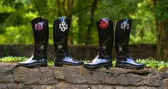 zoubaby monogrammed boots