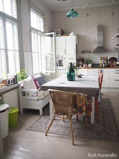 puusohva keittiössä - Meillä Kotona -blogit