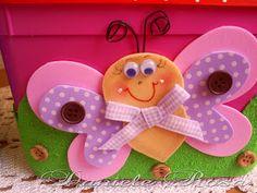 ** Daniele Rosa **: Potes de sorvete decorados