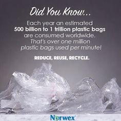 Do your part to reduce the staggering amount of plastic bag waste that ends up in landfills by switching to eco-friendly options like the Norwex Reusable Grocery Bag, Reusable Produce Bag, Out to Lunch Snack Bag, and more!