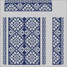Beading _ Pattern - Motif / Earrings / Band ___ Square Sttich or Bead Loomwork ___ Gallery. Cross Stitch Pillow, Cross Stitch Borders, Cross Stitch Designs, Cross Stitching, Cross Stitch Patterns, Weaving Patterns, Lace Patterns, Embroidery Patterns, Blackwork Embroidery