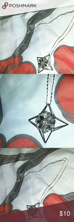 Silver Necklace & Star Pendant 20 inch Sterling Silver Necklace Jewelry Necklaces