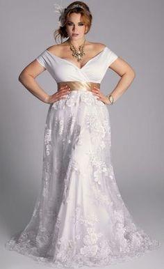 vestidos de novia tallas grandes - Buscar con Google                                                                                                                                                      Más