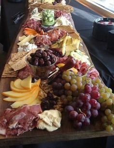 Antipasto station