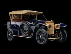 This 1914 Mercedes Open Front Town Car was built in Germany and sold in California.