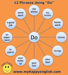 12 phrases using DO