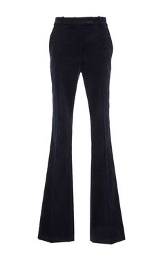High Waisted Flared Trousers by MARTIN GRANT