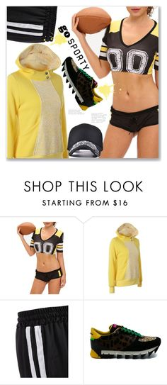 """Go Sporty"" by jecakns ❤ liked on Polyvore featuring Dolce&Gabbana, sport, zaful and activewomen"