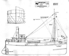 Clyde puffer (1/4) [Форумы Balancer.Ru] Boat Projects, Boat Design, Navy Ships, Small Boats, Boat Plans, Boat Building, Model Ships, Fishing Boats, Sailing Ships