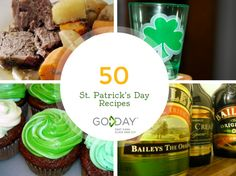 Our own massive list of various food choices for St. Patrick's Day