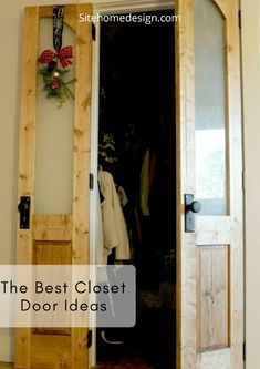Top 30 Storage Room Door Suggestions To Try Make Your Bedroom Tidy As Well
