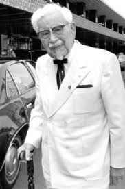 Historical Pics  Harland David Sanders, A. Colonel Sanders - Founder of Kentucky Fried Chicken Van Dyke Beard, Famous Failures, Kentucky Colonel, Stephen Foster, Kentucky Fried, Louisville Kentucky, Colonel Sanders, My Old Kentucky Home, Great Depression
