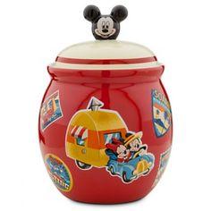 Love this Summertime #MickeyMouse cookie jar. #Disney