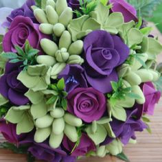 Amazing colors!!  Purple & green