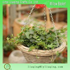 Factory Wholesale Willow Wicker Basket Hanging Basket Garden Basket For Planting Photo, Detailed about Factory Wholesale Willow Wicker…