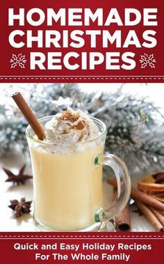 Homemade Christmas Recipes Bonus | https://homemaderecipes.com/homemade-christmas-recipes-bonus/