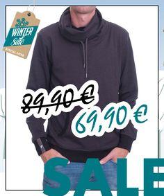 Hoodie Tube Collar aus Biobaumwolle von recolution im WSV bei Kult-Design-Unikate