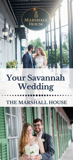 Wedding and elopement packages in Savannah, GA at The Marshall House for an elegant, fun and unique Savannah wedding!