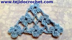 Crochet Punto Margherita aumenti Chal en tejido crochet con Punto Margarita tutorial paso a paso.