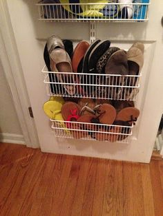 I'd mentioned in my last relationship post how I was working on saving space and had to share this. I added another basket to my front clo...