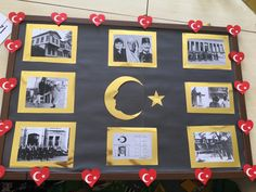 Ataturk School Bulletin Boards, Art Education, Art For Kids, Diy And Crafts, Projects To Try, Preschool, Gallery Wall, Classroom, Children