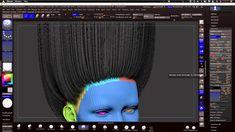 Fibermesh : Zbrush to Maya, Efficient Workflow Pt1 /// ZBRUSH
