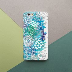 Floral iPhone Case iPhone 5s Case Mandala iPhone 6s Case Floral iPhone 6 Case Flower Samsung Galaxy S6 Case Samsung Galaxy S5…