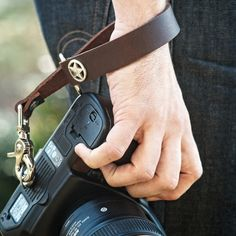 For anyone like me who thinks a full strap only gets in the way but wants some attachment to your camera.