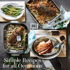 Looking for easy weeknight meals? Try these delicious and simple ideas from Williams Sonoma that will satisfy your taste and budget.