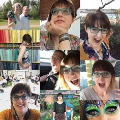 I'm playing along with #marchmeetthemaker this month so we'll be able to get to know each other a bit more! ----- This is me! ----- I like making silly faces in pictures quilting sewing... anything that involves fabric. My main gig is working @quiltingfromtheheart  my family's quilt store though most of you probably know me more from my longarm quilting! I quilt customer quilts write a quilting blog and travel to teach others. I live in Alberta Canada. ----- #kathleenquilts…