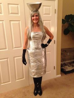 Discover recipes, home ideas, style inspiration and other ideas to try. Halloween Costume Contest, Couple Halloween Costumes, Halloween Ideas, Halloween Party, Robot Costumes, Diy Costumes, Costume Ideas, Stanley Cup Costume, Amigurumi