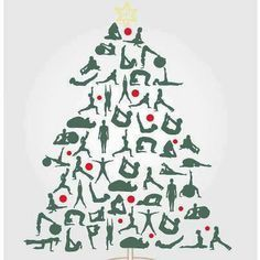 yoga christmas images - Google Search