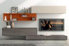 I-modulART 278 Wall Unit by Presotto