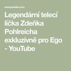 Legendární telecí líčka Zdeňka Pohlreicha exkluzivně pro Ego - YouTube